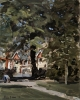 PUTTING ON THE LEAD, ROATH MILL GARDENS, Price: £1450.00, Medium: oil, Size: 10x8ins