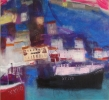 QUAYSIDE WHITBY, Price: £3750.00, Medium: Mixed Media, Size: 30x32ins