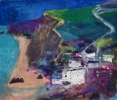 WATERGATE BAY, Price: £600.00, Medium: Mixed Media, Size: 8.25x9.75ins
