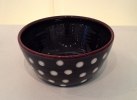 54 BOWL - GREY/WHITE SPOTS has been sold