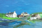 ANGLESEY COTTAGES, Price: £950.00, Medium: Acrylic, Size: 18x26ins