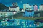 TENBY AT NIGHT has been sold