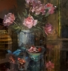 PEONIES (r), Price: £5750.00, Medium: oil, Size: 20x20ins