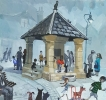 MARKET SQUARE, Price: £1300.00, Medium: Acrylic, Size: 11x12ins