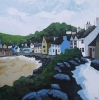 LITTLE HAVEN, Price: £1200.00, Medium: Acrylic on canvas, Size: 24 X 24 INS