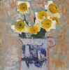 DAISIES, Price: £1450.00, Medium: oil, Size: 9.5x9.5ins