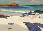 CHILD ON THE SHORE, IONA (r), Price: £2850.00, Medium: oil, Size: 8x11ins