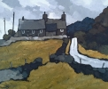 THE OLD SCHOOL HOUSE, Price: £425.00, Medium: Acrylic on canvas, Size: 30x25cm