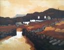 GLANRAFON, Price: £425.00, Medium: Acrylic on canvas, Size: 30x25cm