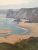 ABOVE THREE CLIFFS, Price: £600.00, Medium: Oil on Board, Size: 13x10.25ins