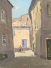 MENERBES, FRANCE, Price: £550.00, Medium: Oil on Board, Size: 11.75x8.75ins