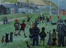 RUGBY, WATTSTOWN, Price: £1300.00, Medium: Acrylic, Size: 11x11ins