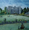RUPERRA CASTLE, CAERPHILLY, Price: £2950.00, Medium: Acrylic, Size: 24x24ins