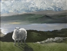 ON GOGARTH, Price: £550.00, Medium: Acrylic on canvas, Size: 26X34cm