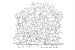 101 DALMATIONS, AND POODLES, AND CORGIS..., Price: £120.00, Medium: Ink, Size: 11.5x8ins