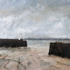 WINTER HARBOUR, NEWLYN, Price: £750.00, Medium: Oil on Board, Size: 60x60cm