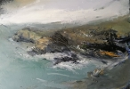 YNYS LOCHTYN, Price: £725.00, Medium: Oil on Board, Size: 30x43cm