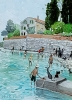 'THE DURRELL'S FICTIONAL HOME', CORFU OLD TOWN, Price: £900.00, Medium: Acrylic, Size: 11x8ins