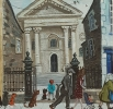 CHAPEL, LAMMAS STREET, CARMARTHEN, Price: £1300.00, Medium: Acrylic on board, Size: 11x11ins