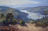 LATE SUMMER, LLYN BRIANNE by GARETH THOMAS, Price: £2850.00, Medium: Acrylic, Size: 30x20ins