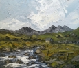 CAPEL CURIG, SNOWDONIA by MARTIN LLEWELLYN (has been sold)