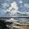 CLOUDS OVER THE SEA by MARTIN LLEWELLYN (has been sold)