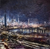 PORT TALBOT NIGHT by PETER KETTLE FRSA RCA (has been sold)