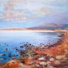 PUERTO NATALES SUNSET LOOKING EAST by PETER KETTLE FRSA RCA (has been sold)