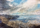 PASSING STORM, UPLIFTING LIGHT by MAGGIE BROWN, Price: £850.00, Medium: Mixed Media, Size: 59X42cm