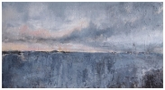 RAMSAY ISLAND FROM ST DAVID'S HEAD by MIKE CARTER, Price: £675.00, Medium: Mixed Media, Size: 56X31cm