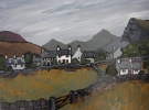 WELSH HAMLET by DAVID BARNES, Price: £675.00, Medium: oil, Size: 12X16ins