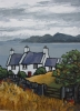 COTTAGE ON CARDIGAN BAY by DAVID BARNES, Price: £675.00, Medium: oil, Size: 16X12ins