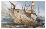 PETREL by THEO CRUTCHLEY-MACK, Price: £1480.00, Medium: Oil on panel, Size: 57x92cm